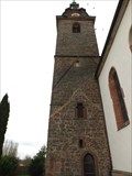 Image for Tower of the parish St. Barbara church, Hainfeld - RLP / Germany