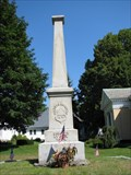 Image for Soldiers Monument - Sturbridge, Massachusetts