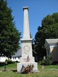 Image for Soldiers Monument - Sturbridge, Massachusetts