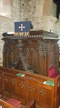 Image for Pulpit - St Michael and All Angels - Alsop-en-le-Dale, Derbyshire, UK