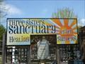 Image for Three Sisters Sanctuary, Giant Tin Man - Goshen, MA