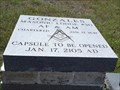 Image for Masonic Lodge #30 Time Capsule - Gonzales, TX