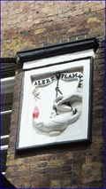 Image for Alere Flammam - Red Lion Court, Fleet Street, London, UK