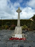 Image for Combined WWI and WWII cross - Delabole, Cornwall