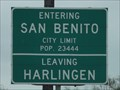Image for San Benito TX - Pop. 23,444