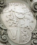 Image for Principal coat of arms of Thurn and Taxis at the Hofbräuhaus, Waffnergasse 6, Regensburg - Bavaria / Germany