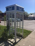 Image for King Street East Bell Phone Booth - Burford, ON