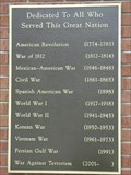 Image for All Vets Memorial - West College Corner, IN