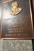 Image for Thomas Austin Yawkey  -  Boston, MA