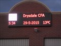 Image for CFA Time and Temperature Display - Drysdale, Victoria