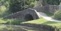 Image for Peel Bank Towpath Stone Bridge On Leeds Liverpool Canal - Hyndburn, UK