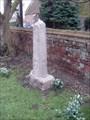 Image for Churchyard Cross - Church of All Saints, Church Road, Tilney All Saints, Norfolk. PE34 4SJ