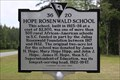 Image for Hope Rosenwald School