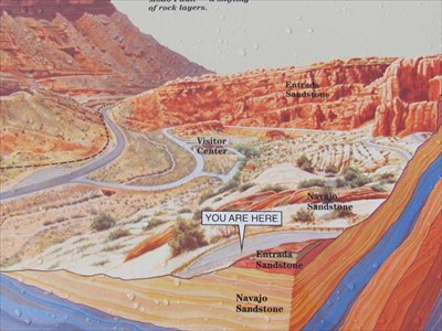 Moab Fault - Moab, UT - \'You Are Here\' Maps on Waymarking.com