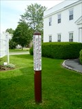 Image for United Church of Christ Peace Pole - West Lebanon, New Hampshire