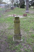 Image for John L. Burk -- Henson Cemetery, Muldoon TX