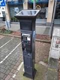 Image for Solarbetriebener Parkscheinautomat - Brühl, NRW, Germany