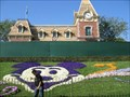 Image for Mickey in Flowers at Disneyland, CA
