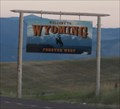 Image for MT-WY Border -- I-90 southbound nr Wyola MT