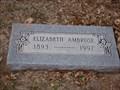 Image for 104 - Elizabeth Ambrose Stevens - Fairlawn Cemetery - OKC, OK