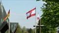Image for Fahne am Denkmal zur Schwarzen Madonna - Remagen - RLP - Germany