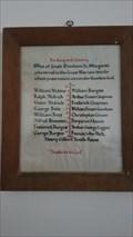 Image for Roll of Honour - St Margaret of Antioch - South Elmham St Margaret, Suffolk