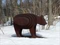 Image for L'ours de la maison amérindienne-Mt-Hilaire-Québec,Canada