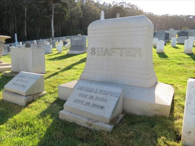 William R Shafter, Medal of Honor, Setting, San Francisco National Cemetery