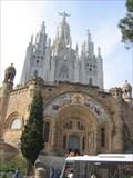 Image for Christ the King, Sagrat Cor Temple, Barcelona, Spain