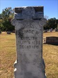 Image for George W. English - Concord Cemetery - Hainesville, TX