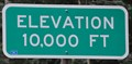 Image for Million Dollar Highway ~ Elevation 10,000 Feet