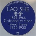 Image for Lao She - St James's Gardens, London, UK
