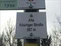 Image for Höhenmarke Alter Kösinger Straße, Neresheim 587 Meter