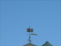 Image for Book & Quill Weathervane on Library  -  Hopkinton, NH