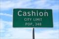 Image for Cashion, TX - Population 348