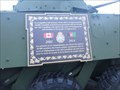 Image for LAV III - Afghanistan-Iraq Memorial - Bain Park Trenton, ON