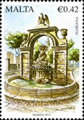 Image for Pope Paul V Fountain, a.k.a. the Dolphin Fountain,  - Floriana, Malta