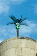 Image for Palme auf Dach / Palm Tree on Rooftop - Munich, Germany