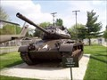 Image for M-47 Patton Tank, Illinois State Military Museum.  Springfield, Illinois
