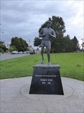 Image for Statue of Terry Fox, One Leg and a Dream - Victoria, BC, Canada