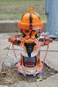 Image for Ardmore Tigers Fire Hydrant - Ardmore, OK