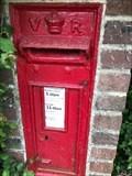 Image for Victorian Pillar Post Box - Coates, Pulborough, West Sussex, UK