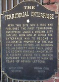 Image for The Territorial Enterprise - Virginia City Historic District - Virginia City, NV