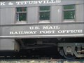 Image for OC & T Train Mail Car - Titusville, PA