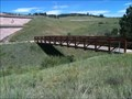 Image for Pedestrian bridge from nowhere to nowhere - Black Forest, CO