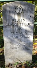 Image for Sergeant Reuben Slaughter Jr. ~ Charleston, West Virginia
