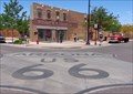 Image for Historic Route 66 - Giant Route 66 Logo - Winslow Arizona, USA.