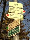 Image for Rozcestník turistických tras - Srby, CZ