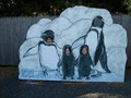 Image for Three Perky Penguins - Rosamond Gifford Zoo - Syracuse, N.Y.