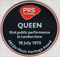 Image for FIRST - Performance by Queen - Prince Consort Road, London, UK